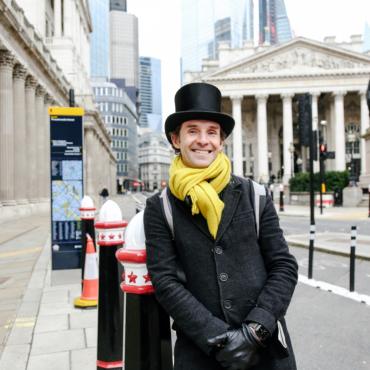 Прогулка по неочевидным местам лондонского Сити с Константином Пинаевым