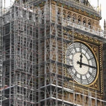 Реставрация Биг-Бена завершится в 2022 году