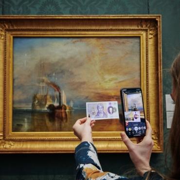 Национальная галерея решила завести аккаунты в TikTok и Snapchat