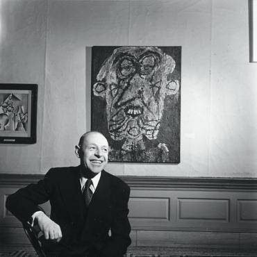 Жан Дюбюффе в галерее Барбикан. 5 интересных фактов о художнике
