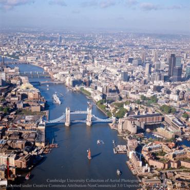Как выглядел Лондон в 1970-е и 1980-е. Архив Кембриджского университета
