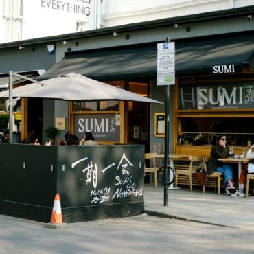 Японский перфекционизм. Обзор нового ресторана SUMI в Ноттинг-Хилле