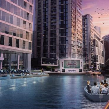Этим летом в Лондоне снова откроется плавучий кинотеатр