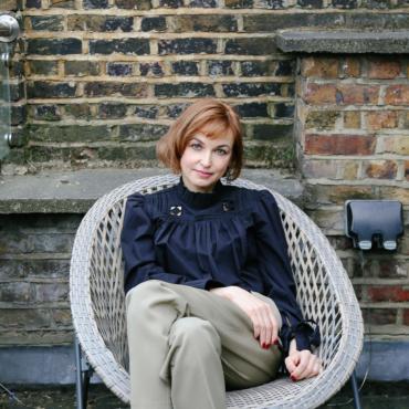 #нашлондон: героиня недели — Карина Добротворская. Разговор о книгах, кино и Лондоне