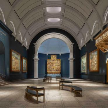 Музей Виктории и Альберта показал обновленную галерею Рафаэля