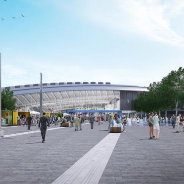 Дан старт строительству нового железнодорожного хаба на западе Лондона