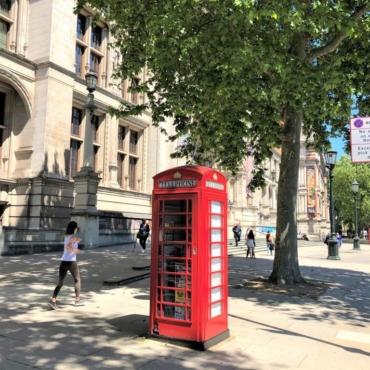 В Лондоне продают красную телефонную будку за 25 тысяч фунтов
