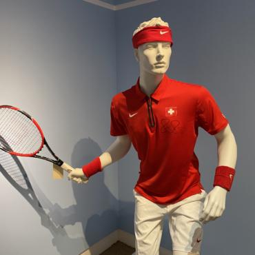 Фанаты трепещут: коллекция Роджера Федерера выставлена на торги