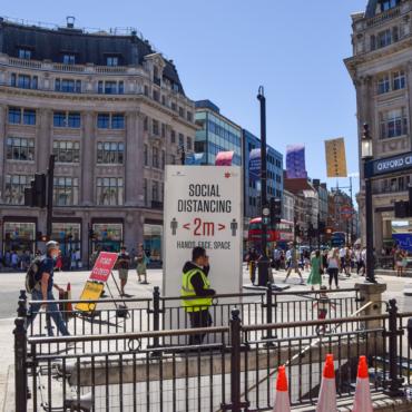 Лондонская Оксфорд-стрит частично станет пешеходной