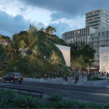 В Лондоне началась продажа билетов на панорамный курган у Мраморной арки