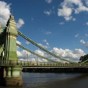 Мост Хаммерсмит в Лондоне снова откроют для пешеходов и велосипедистов