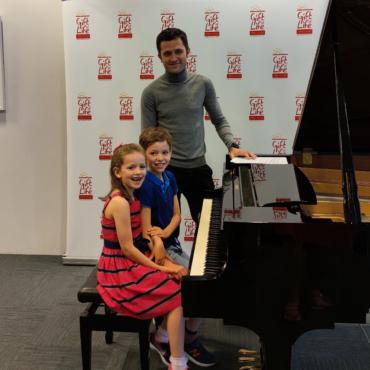 Дети-музыканты собрали более 1300 фунтов для Gift of Life, дав благотворительный концерт