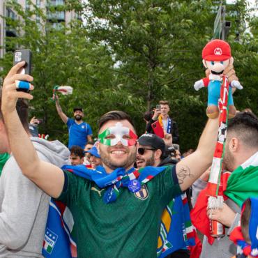 Итальянским болельщикам разрешат приехать на финал Евро в Лондон без карантина