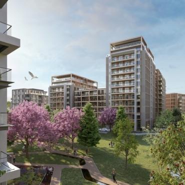 Проект King's Road Park. Как бывшую промзону в Фулэме превращают в зеленый квартал