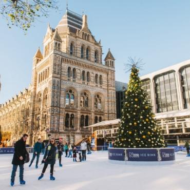 Каток при Музее естественной истории откроется в Лондоне в последний раз