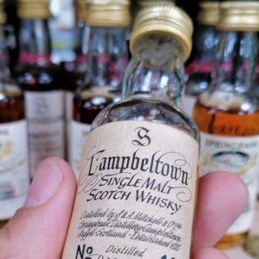 Самая дорогая миниатюрная бутылка виски в мире ушла с молотка за £6,4 тыс