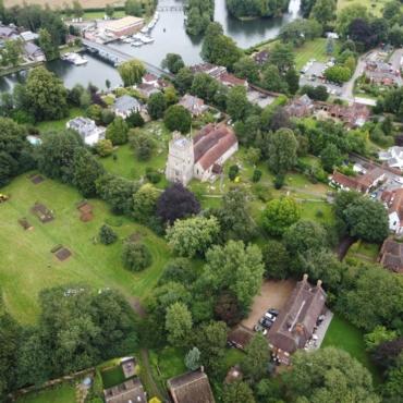 Британские археологи обнаружили затерянный англо-саксонский монастырь на юго-востоке Англии