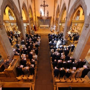 Церемония в честь 80-летия «северных конвоев» состоялась в Ливерпуле при участии ветеранов и официальных лиц Британии и России