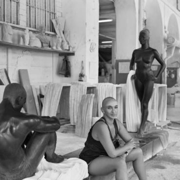«Скульптуры – это мои смс-ки в будущее». Разговор Игоря Цуканова и Айдан Салаховой