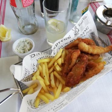 Лондонские рестораны с самым вкусным Fish and Chips