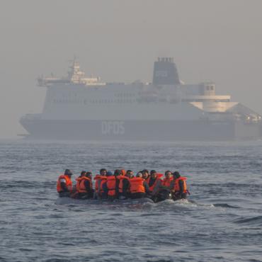 Число попыток незаконного пересечения Английского пролива снова побило суточный рекорд