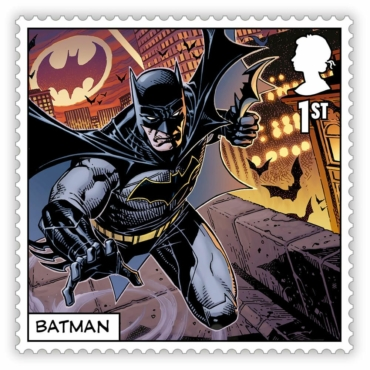 Королевская почта выпускает серию марок, посвященных комиксам — с Бэтменом и Джокером